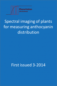 RESOURCES: Spectral imaging of plants for measuring anthocyanin distribution